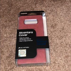 Samsung Galaxy Note 8 Alcantara phone case
